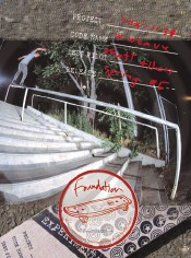 Am Matt Allen Lipslide on a monster rail. His second F ad. TWS Dec 2004.