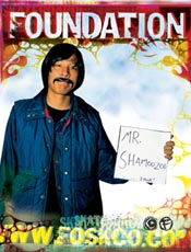 Transworld Ad- Mr. Shamoozoo I think.