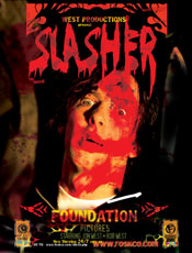 The HORROR of bloodsoaked destiny! Check out Jon West's Slasher!