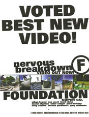 Nervous Breakdown Best Video - I voted us best video. I can do that. Hell I am paying for it, why not?