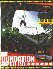 Tony Dasilva - I liked this look and feel. No one else did. Badasskateboards?!?