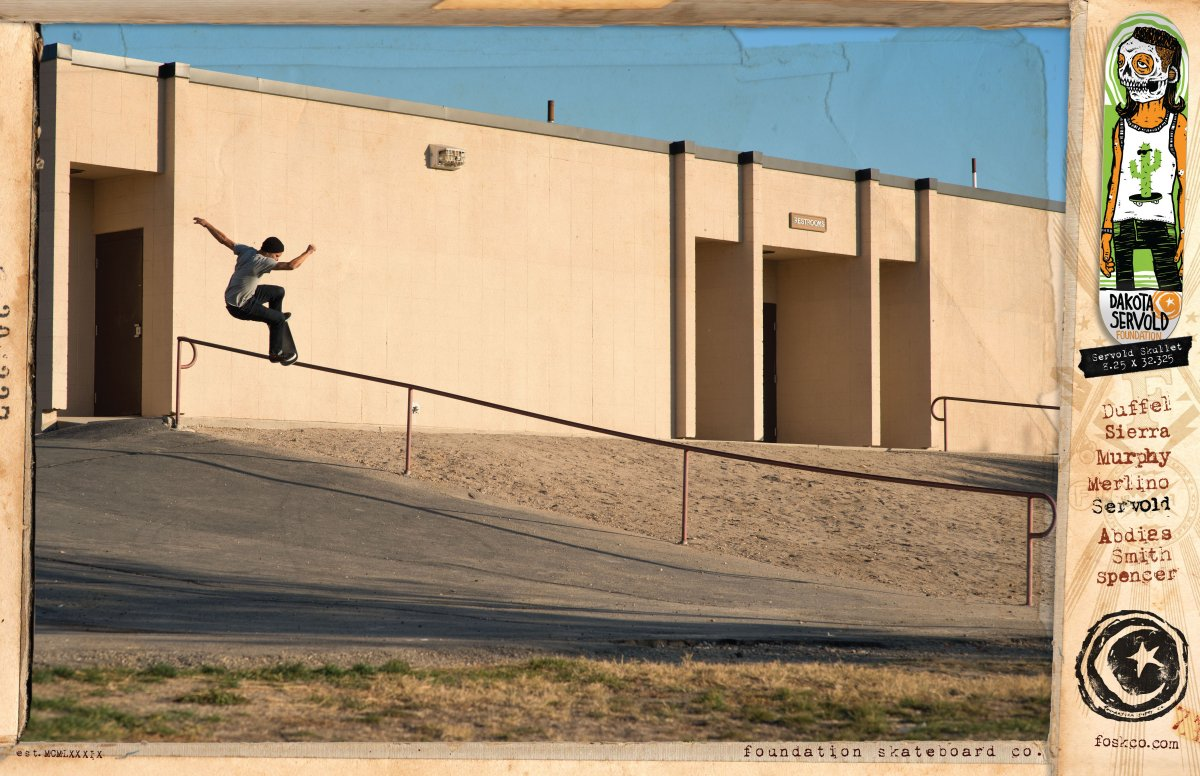 Skateboarding Foundation: Team: Dakota Servold